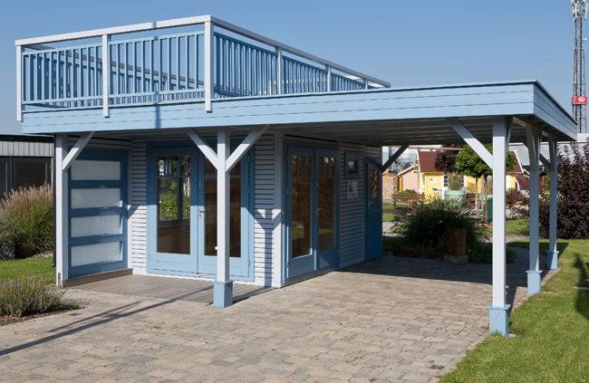 Carport Gartenhaus