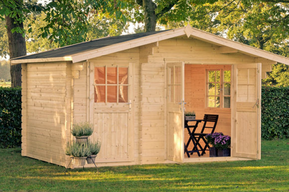 gartenhaus belmont 1 gartenhaus park in st p lten. Black Bedroom Furniture Sets. Home Design Ideas