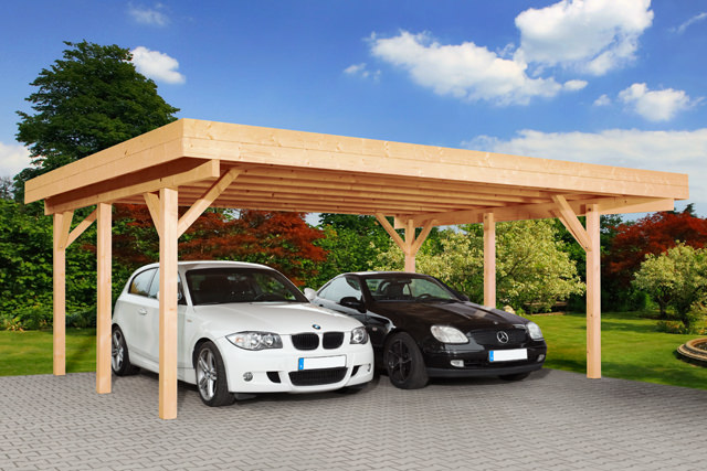 Carport Holz NiederOsterreich ~ Doppelcarport Heidelberg 1  Gartenhaus Park in St Pölten