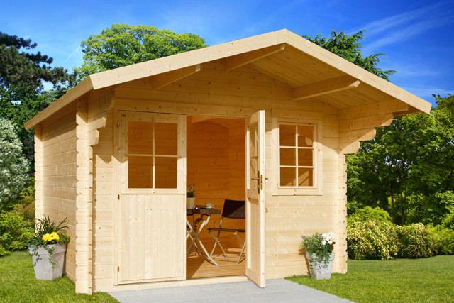 gartenhaus karlstat 1 gartenhaus park in st p lten. Black Bedroom Furniture Sets. Home Design Ideas