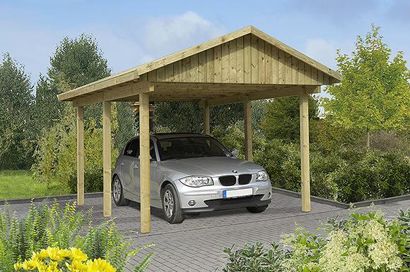 einzelcarport l beck 1 gartenhaus park in st p lten. Black Bedroom Furniture Sets. Home Design Ideas