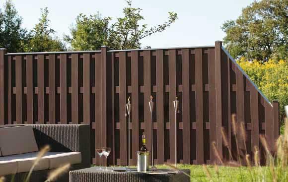 sichtschutzzaun jumbo wpc. Black Bedroom Furniture Sets. Home Design Ideas